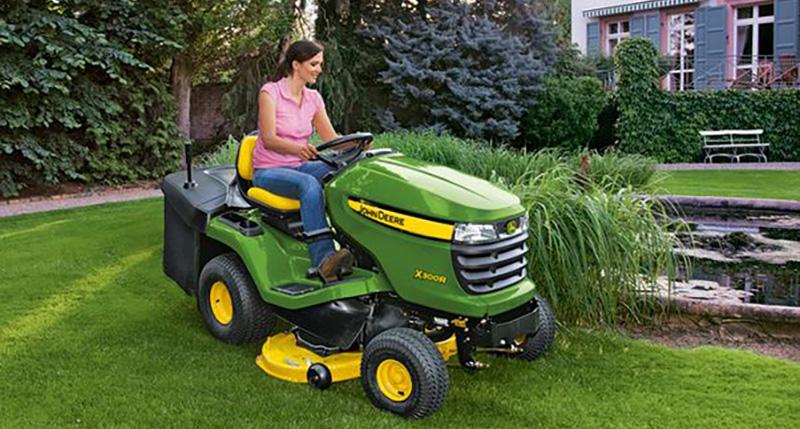 Comment utiliser un tracteur tondeuse?