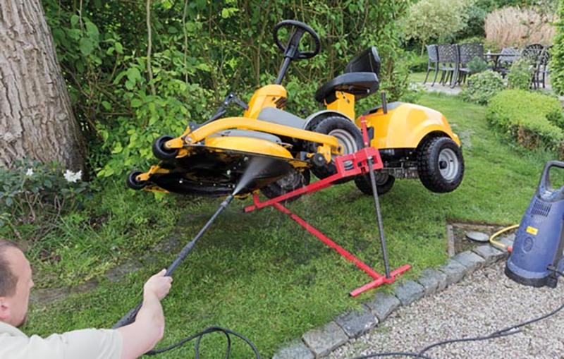 L'entretien de votre tracteur tondeuse