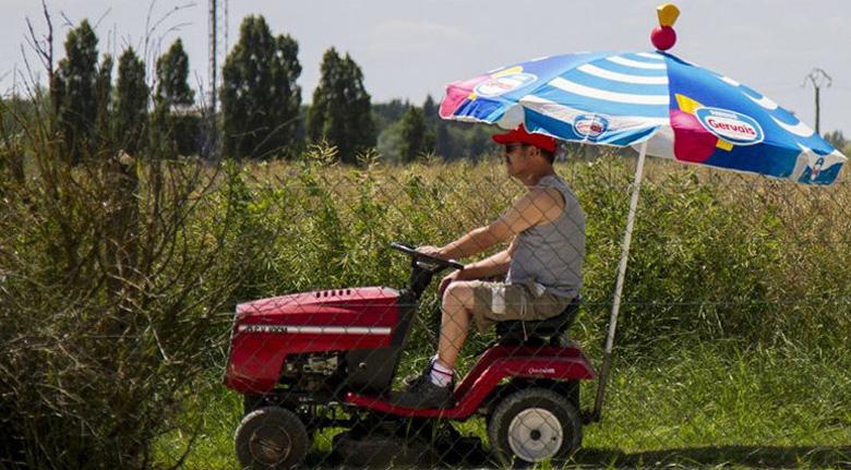 Les Courses de Tracteurs Tondeuses