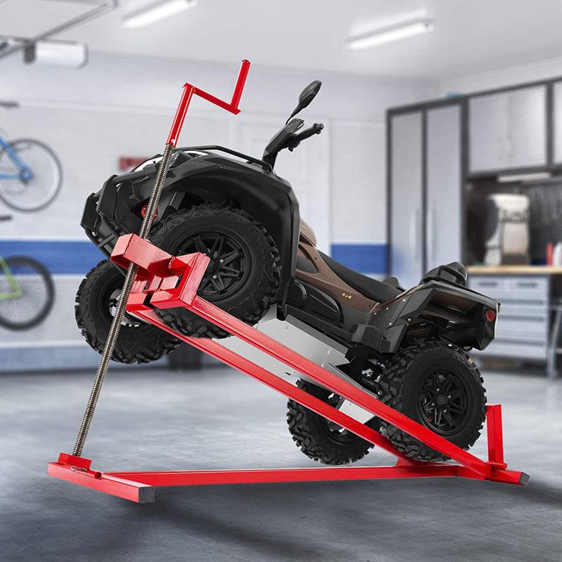 Avis - AREBOS Lève-tondeuse Tracteur-tondeuse Dispositif de levage Cric