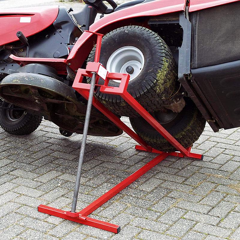 Avis - WilTec Nettoyage Facile Cric lève Tracteur Tondeuse