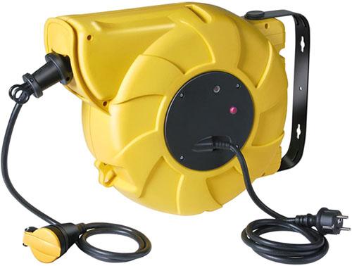 Test - Brennenstuhl 1206941 Enrouleurs de câble électrique standard pro IP44 25 m H07RN-F 3G 2,5