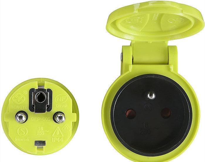 test et avis Luceco Rallonge électrique 40 mètres 3G1,5 mm² NF